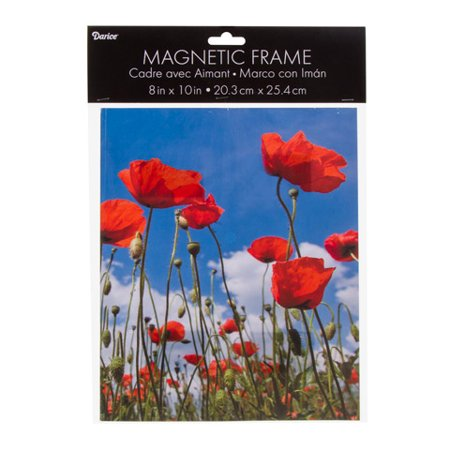 Darice Magnetic Picture Frame Acrylic Clear 8 X 10 Inches