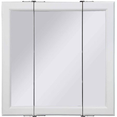Design House Wyndham Tri View Medicine Cabinet Mirror With 3 Doors