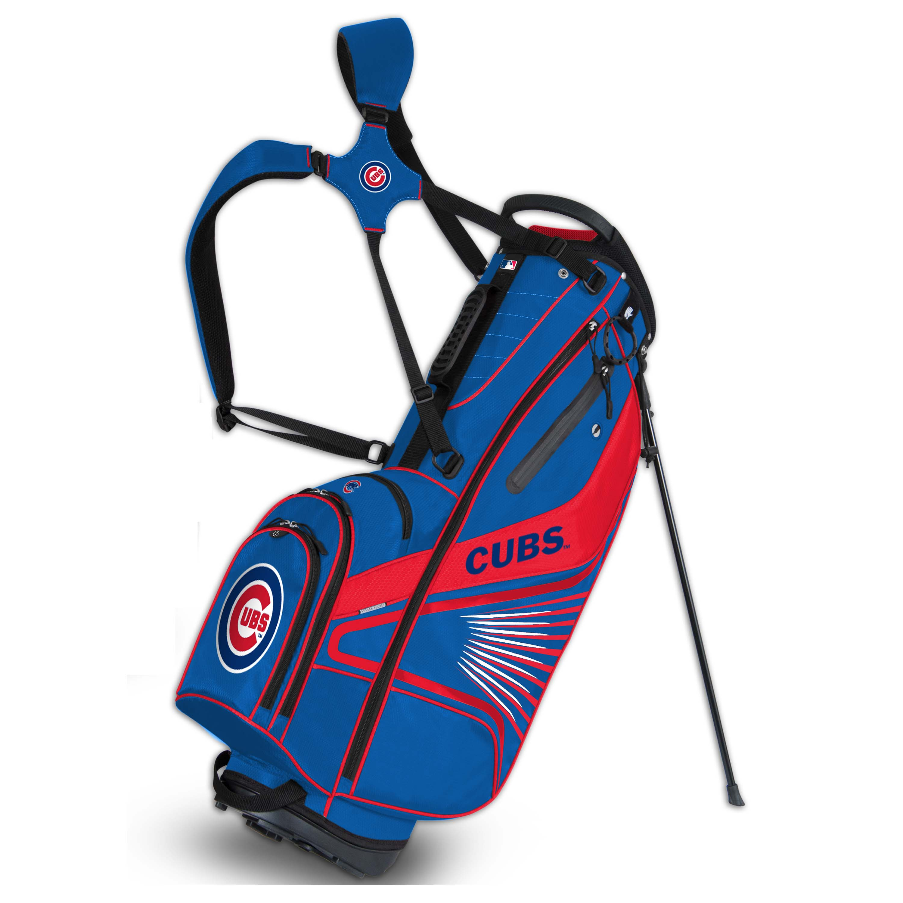 Chicago Cubs Gridiron III Golf Stand Bag - No Size