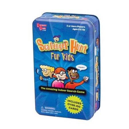 Scavenger Hunt For Kids Travel Game In A Tin