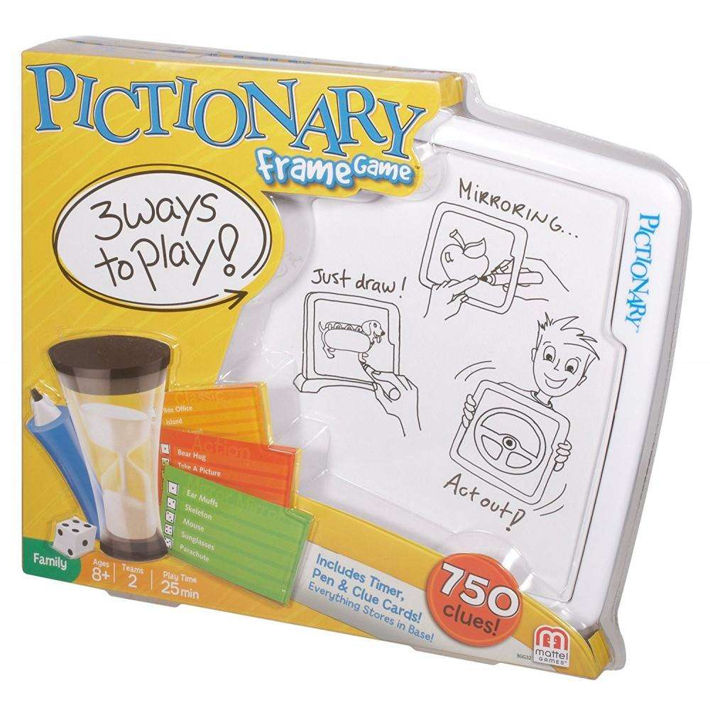 Pictionary Frame Game - Walmart.com