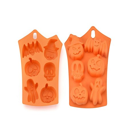 Creative Happy Halloween Silicone Pumpkin Cake Silicone Mold Kitchen Bake Tools - Halloween Cakes Pumpkin