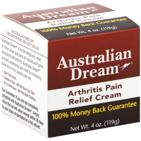 Australian Dream soulagement de la douleur de l'arthrite crème, 4 oz (Pack de 3)