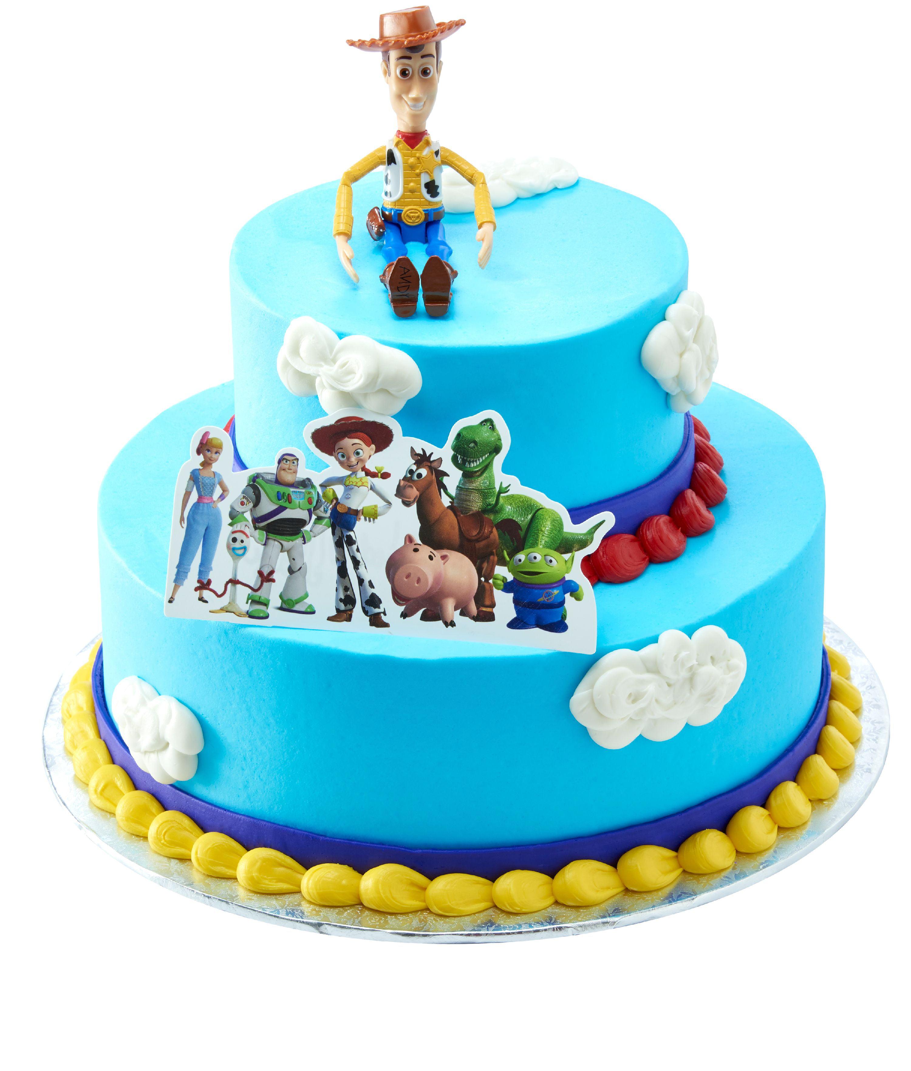 Marvelous Toy Story Two Tier Cake Walmart Com Walmart Com Birthday Cards Printable Trancafe Filternl