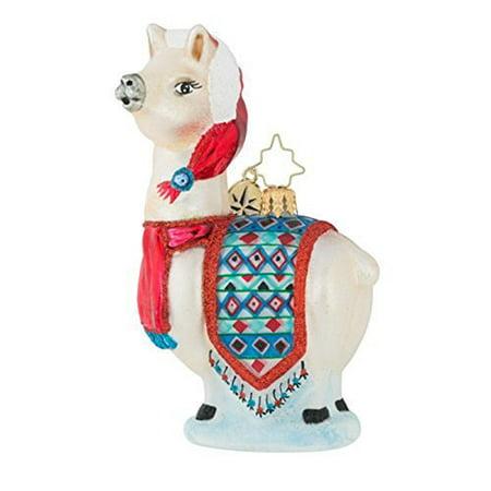 Christopher Radko This Llama's Got The Look Christmas Ornament ()