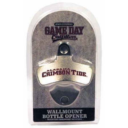 Mounted Bottle Opener - University of Alabama Wall Mounted Bottle Opener