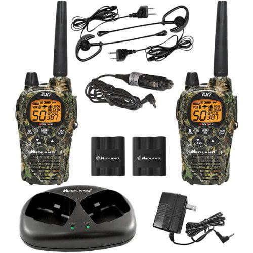 Midland Genuine Mossy Oak X_TRA TALK GMRS 2_Way Radios With 36_Mile Range by Midland