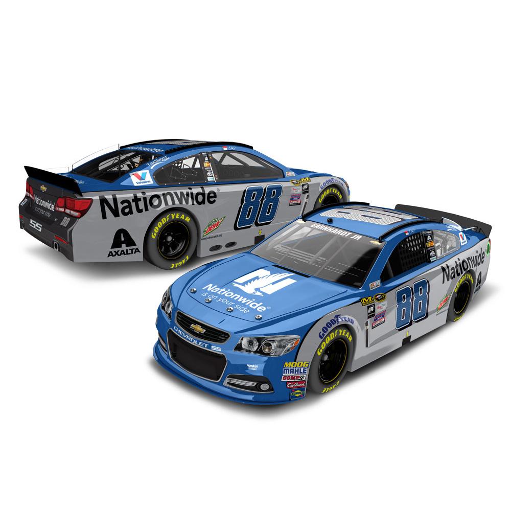 Dale Earnhardt Jr. Action Racing 2016 #88 Nationwide 1:24 NASCAR Sprint Cup Series Platinum Die-Cast Chevrolet SS - No Size