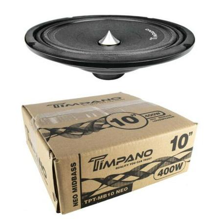 Timpano TPT-MB10 Neo 10″ 400W Neodymium Mid Bass Loudspeaker Car Audio 4 (Mid Bass Loudspeaker Driver)