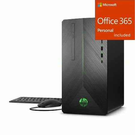 HP Pavilion 690 Gaming Desktop Intel Core i5 GTX 1050 Ti 8GB + Office 365 Bundle