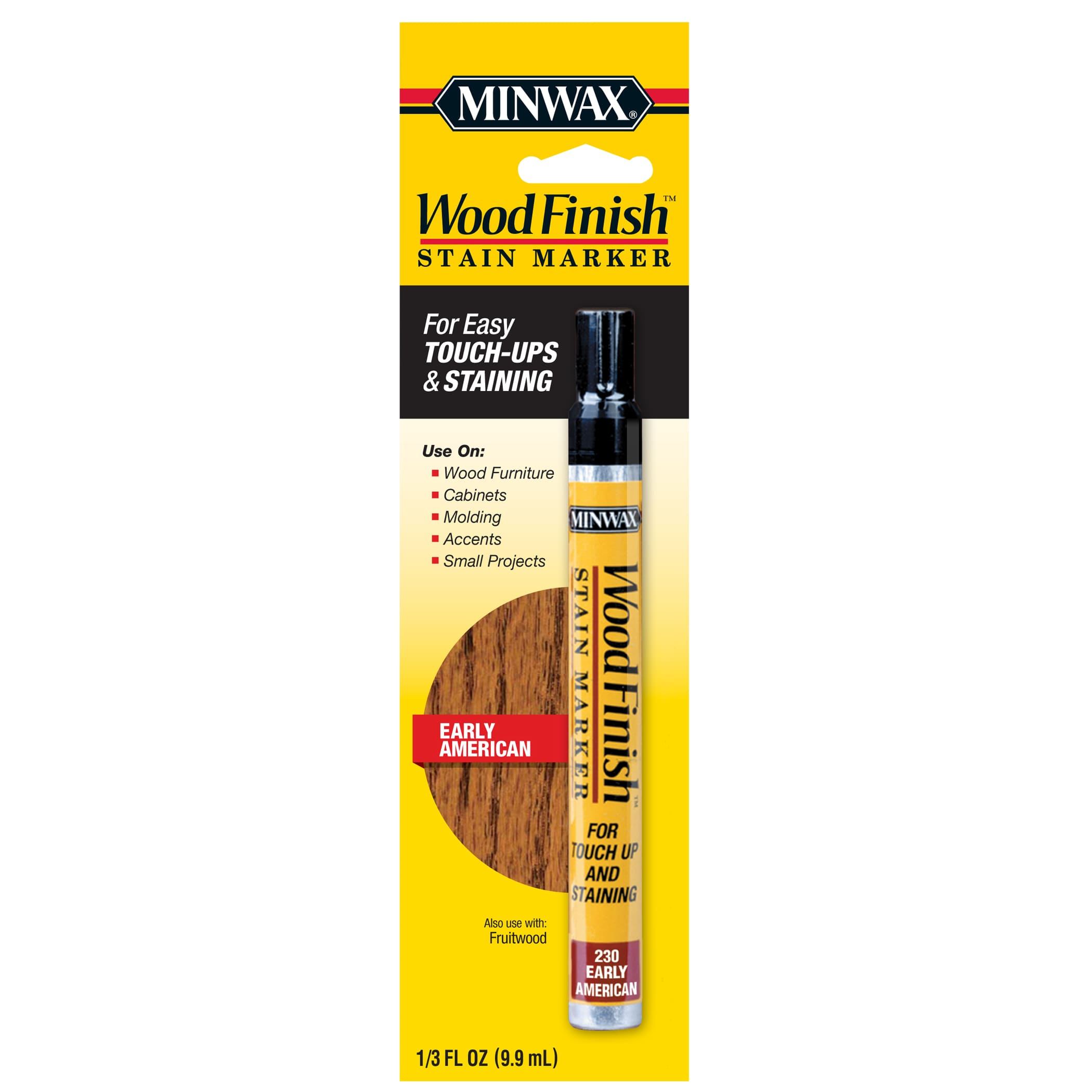 Minwax Wood Finish Stain Marker 13 Oz Early American Walmart