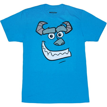 Monsters Inc Sulley Face T-Shirt (Icc Face)
