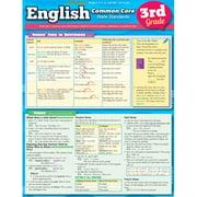 BarCharts 9781423221838 English Common Core 3Rd Grade Quickstudy Easel