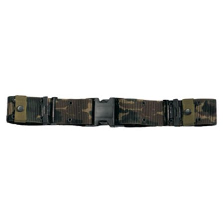 Woodland Camo Marine Corp Style Quick Release Pistol Belt