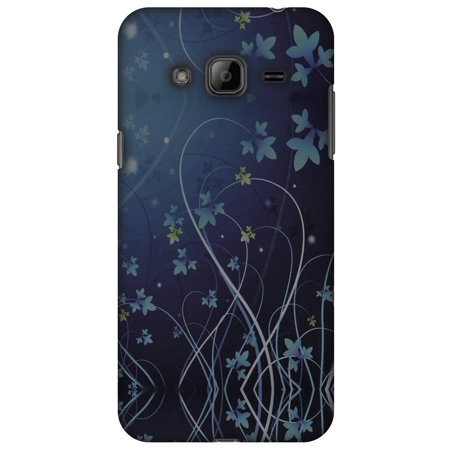 Samsung GALAXY J2 Case, Premium Handcrafted Printed Designer Hard ShockProof Case Back Cover for Samsung GALAXY J2 SM-J200F - Midnight Lily