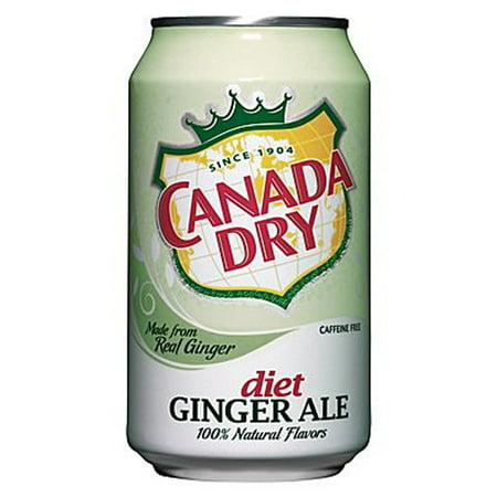 Canada Dry Diet Ginger Ale 12 Oz Cans   Pack Of 24