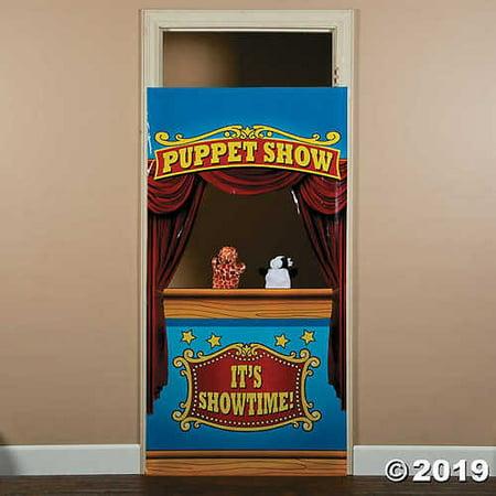Plastic Puppet Show Door Banner - Door Banners