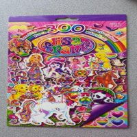 Lisa Frank 300 Stickers - 4 Sheets