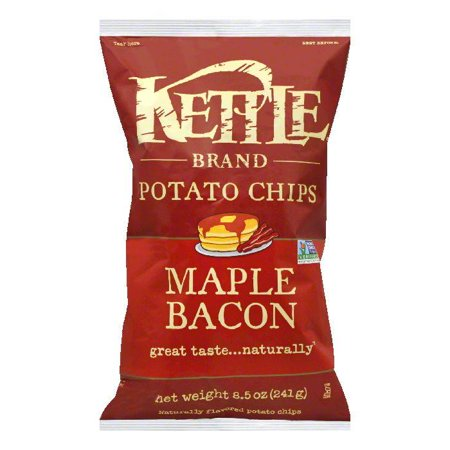 - Kettle Maple Bacon Potato Chips, 8.5 Oz (Pack of 12)