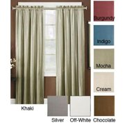 Arlee Thermal Backed Iridescent Curtain Panel Pair 29-12823