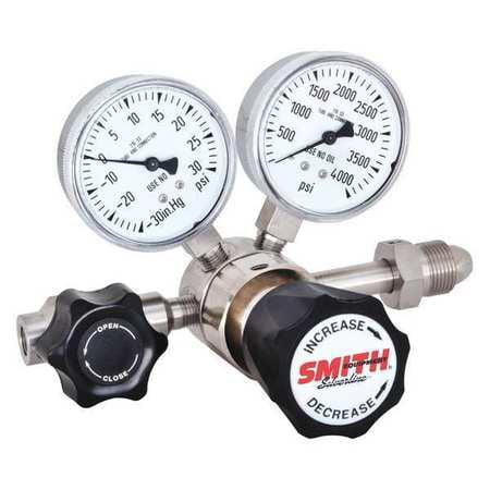 MILLER 610-03060000 Specialty Gas Regulator,Neoprene,25 p...