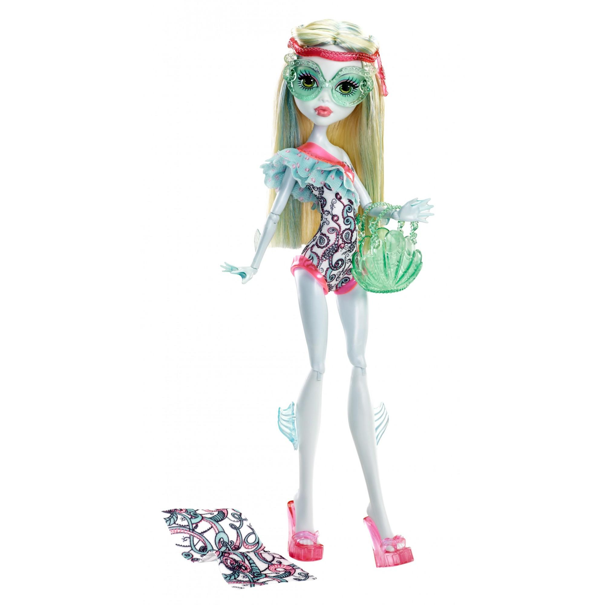 Monster High Beach Beasties Lagoona Doll by Mattel