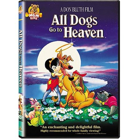 All Dogs Go To Heaven Picture Frame