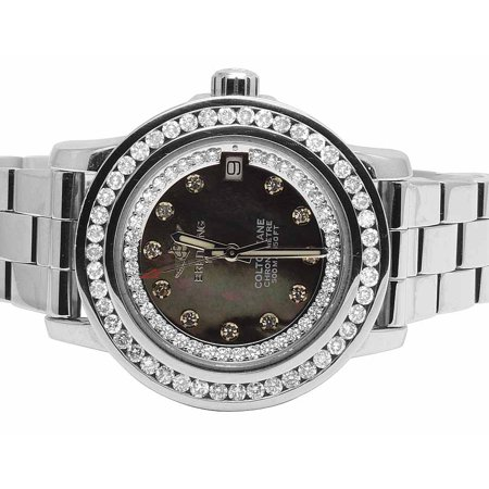 Breitling Ladies Breitling Aeromarine Colt 33 A77387 Diamond Watch 2.5 Ct