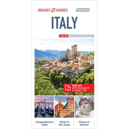 Insight guides travel map italy - folded map: (Insight Best Of Italy)