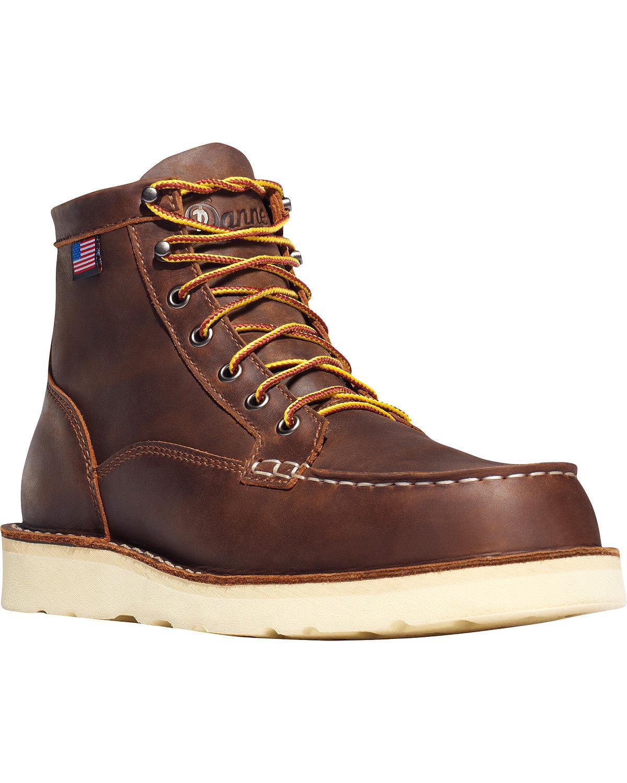 Danner Men Bull Run Moc Toe 6' Boots 12 D US by Lacrosse Footwear Inc.