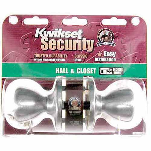 Kwikset 92001-270 Passage Set Mobile Home Tylo Knob