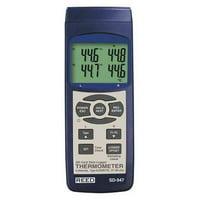 REED INSTRUMENTS TC Thermometer/Data Logger,K,J,R,S,E,T SD-947