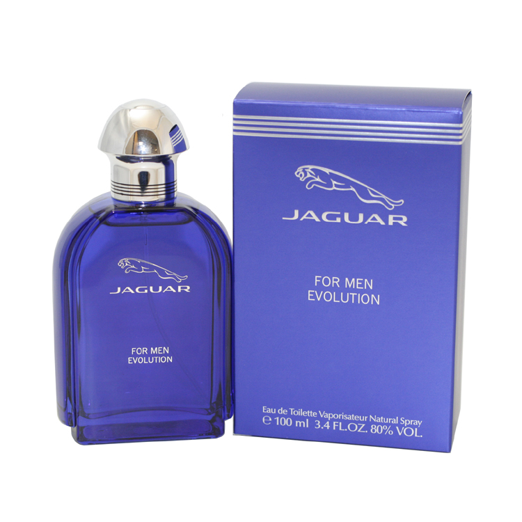 Jaguar Evolution Eau De Toilette Spray 3.4 Oz / 100 Ml