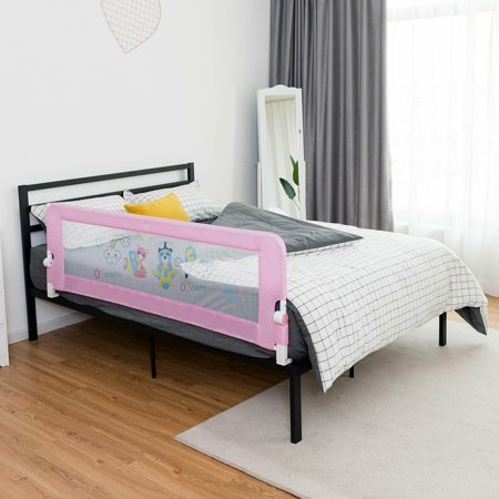 Gymax 69'' Breathable Baby Children Toddlers Bed Rail ...