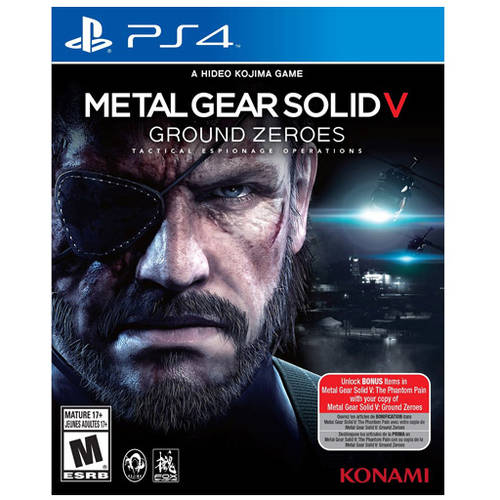 Metal Gear Solid V Ground Zero (PS4) - Pre-Owned