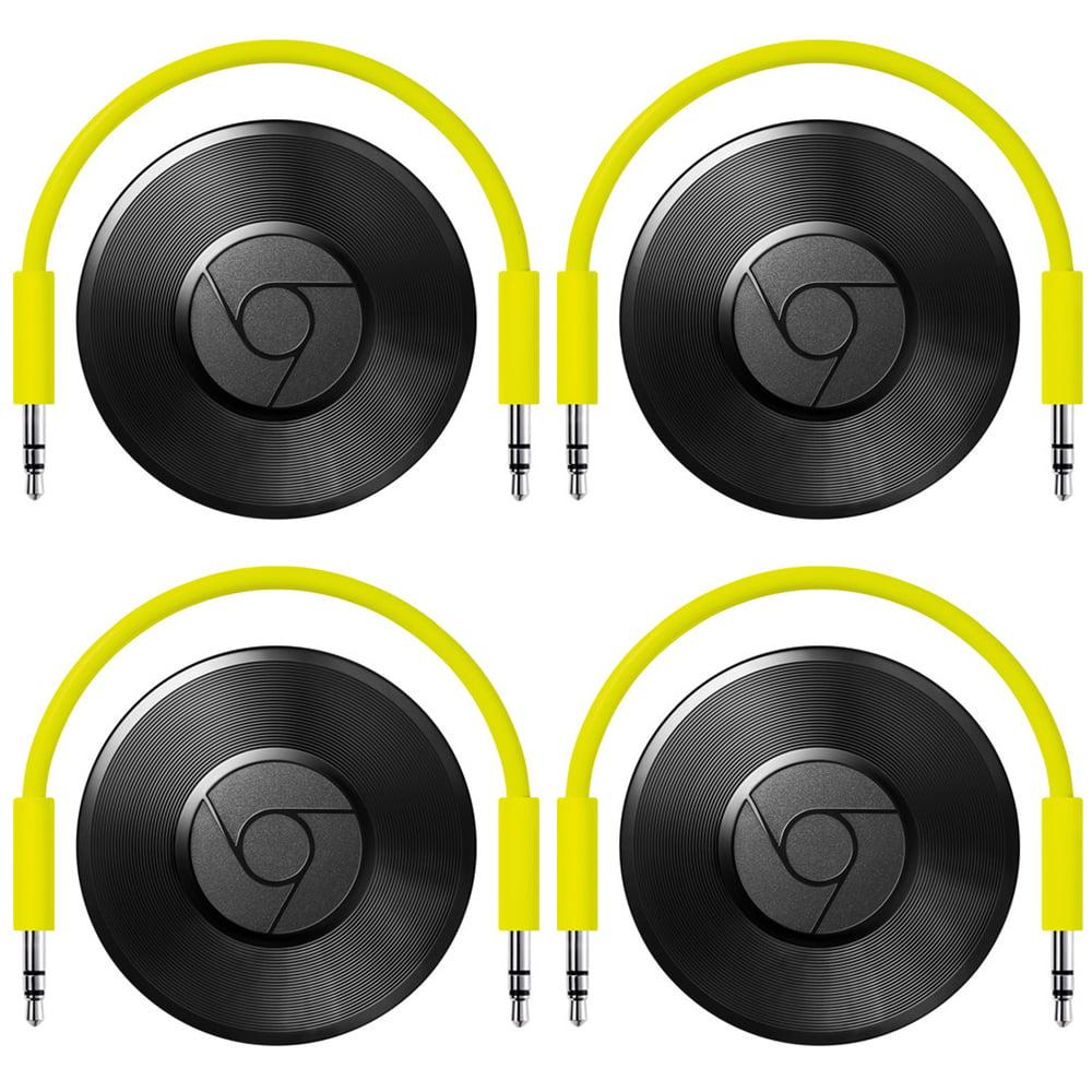 Google Chromecast Audio Black 4 Pack (GA3A00147-A14-Z01)