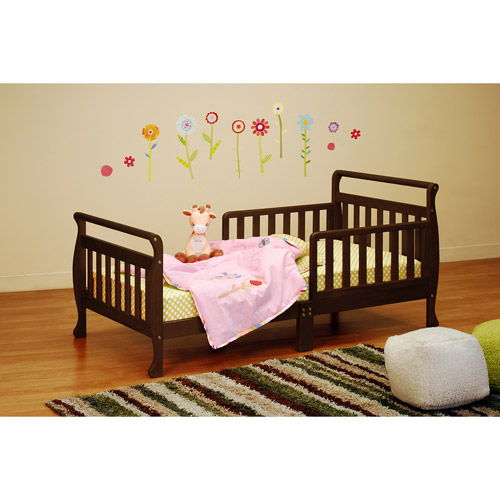 Athena Classic Sleigh Toddler Bed (Your Choice in Finish)