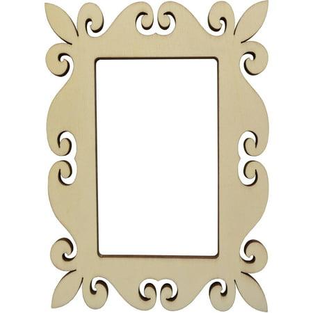 Unfinished 3x5 Wood Frame - Walmart.com