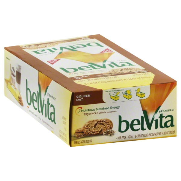 Mondelez BelVita  Breakfast Biscuits, 8 ea