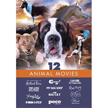 12 Animal Movies (DVD)](Halloween Museum West Virginia)