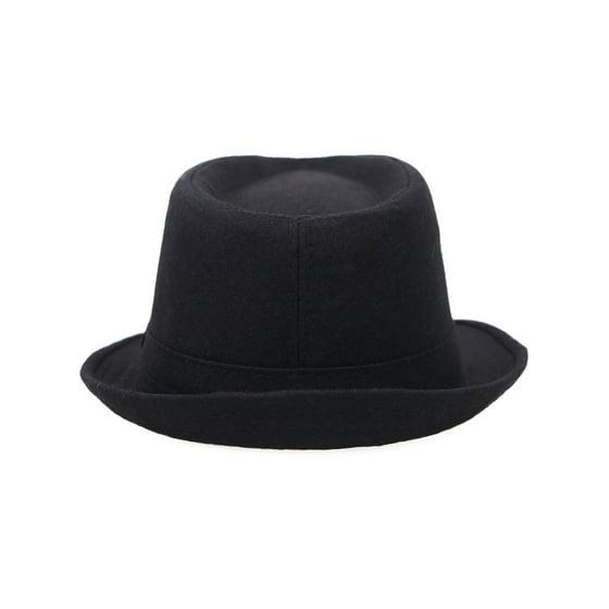 41d3db57ed62f2 Simplicity - Indiana Men's Adult Deluxe Structured Fedora Hat,  3435_Charcoal Grey - Walmart.com