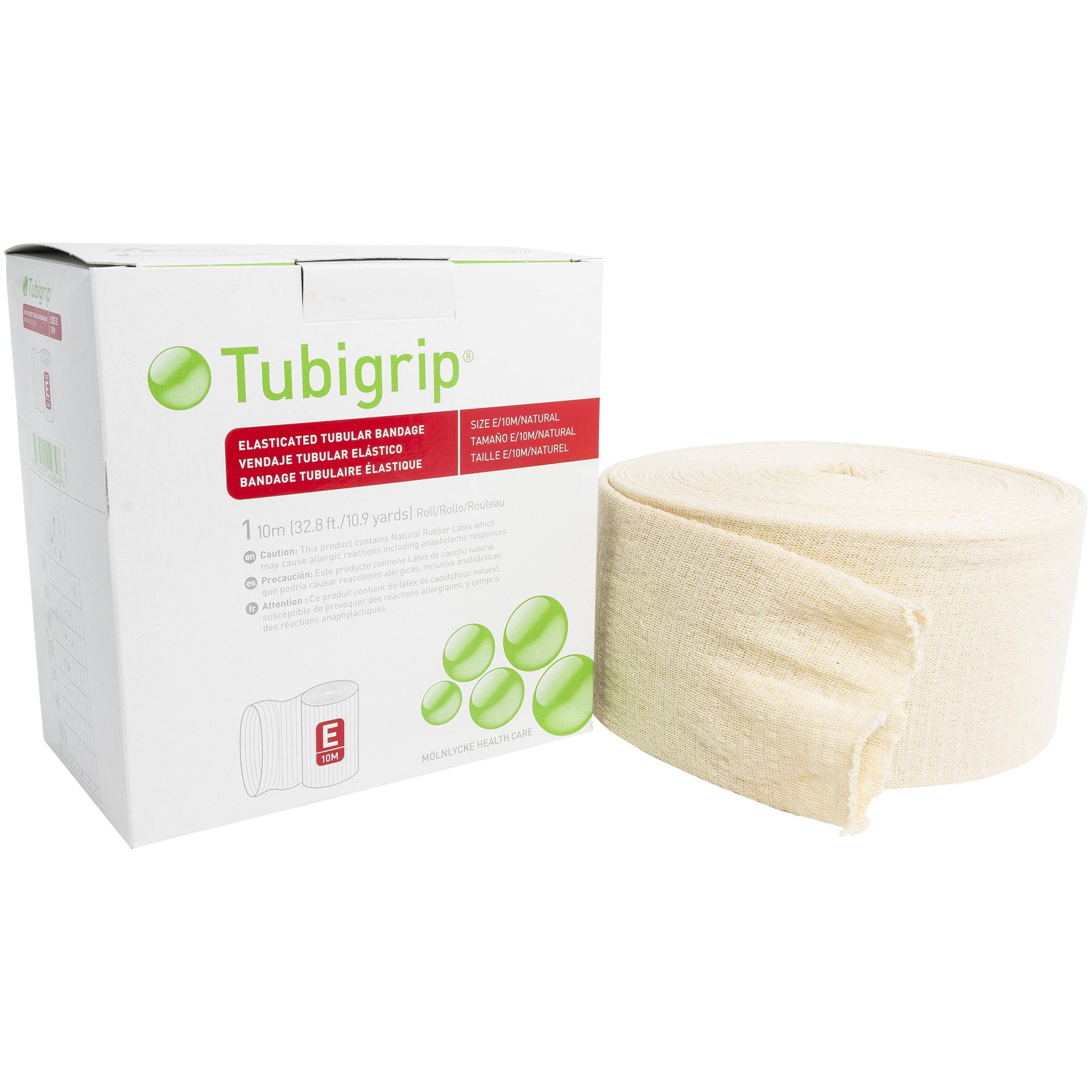"Tubigrip E - 3.5"" x 10 Meter Elastic Tubular Bandage - Na..."