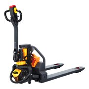 """APOLLOLIFT Electric Powered Pallet Jack 3300lbs Capacity Lithium Battery Walkie Pallet Truck 48""""x27"""" Fork Size"""