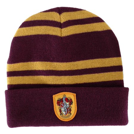 Harry Potter Hat (Harry Potter Gryffindor House Knit Hat Costume Beanie)