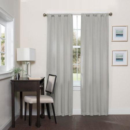 Eclipse Darrell Thermaweave Room Darkening Window Curtain (Greenwillow Read)