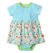 Zutano Romper Dress, Triangulum, 18 Months