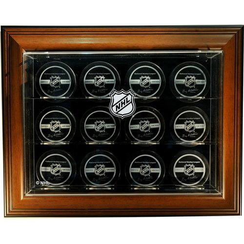 Caseworks International NHL Twelve Puck ''Case-Up'' Logo Display Case