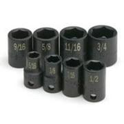 """Sk Hand Tool SKT-8959 3/8"""" Dr Impact Socket Std, 9mm"""