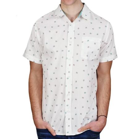 Straight Faded Cotton Donut Shirt