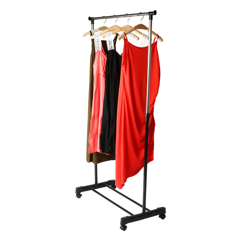 Outtop Extendable Garment Rack Stainless Steel Chrome